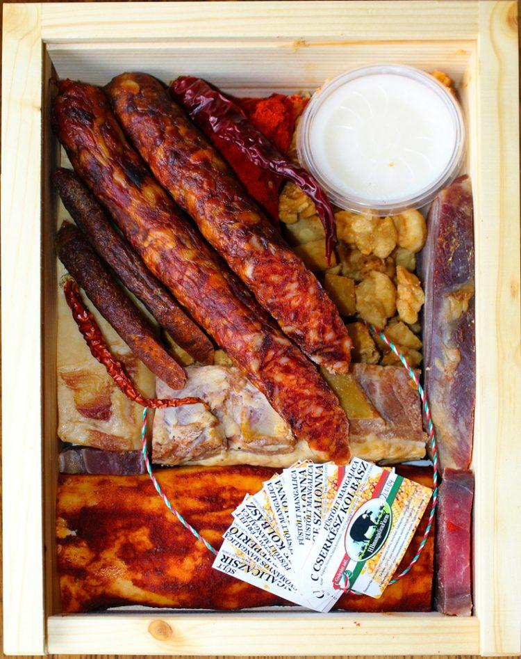HB Mangalica farm termék meatbox kolbász szalonna bacon töpörtyü